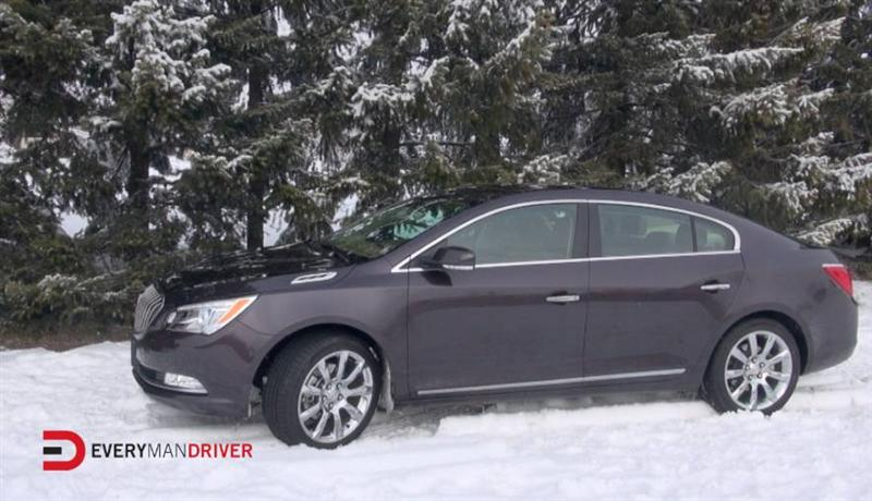 2014 buick lacrosse snowy review on everyman driver with dave erickson. Cars Review. Best American Auto & Cars Review