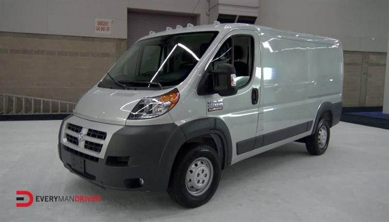 2014 RAM 1500 ProMaster at 2014 Portland Auto Show on Everyman Driver with Dave Erickson