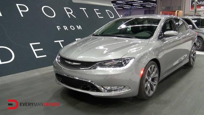 2015 Chrysler 200 on Everyman Driver with Dave Erickson at 2014 Portland Auto Show