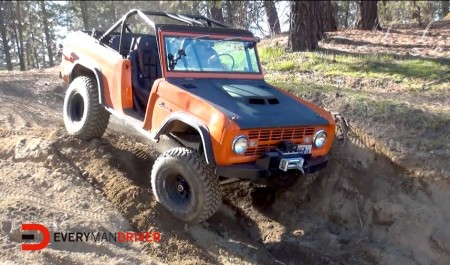 1974 Ford Bronco on Everyman Driver with Dave Erickson