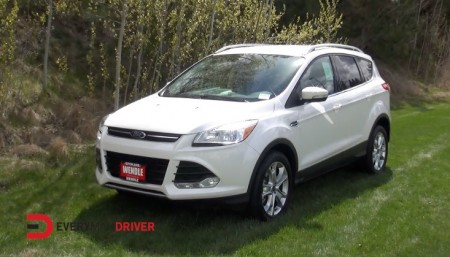 new suv crossover review 2014 ford escape on everyman driver everyman driver. Black Bedroom Furniture Sets. Home Design Ideas