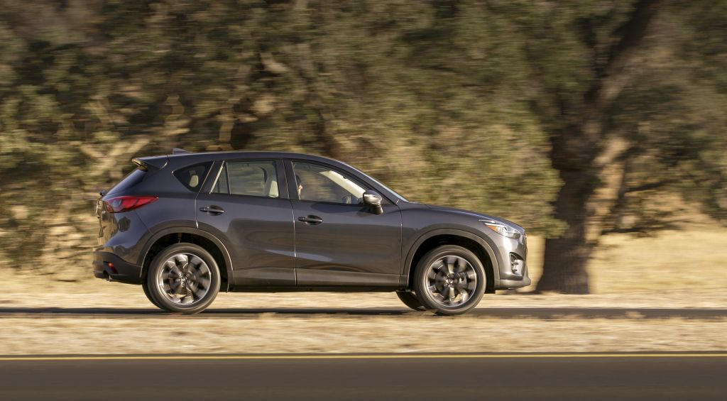2016 Mazda CX-5 with Everywoman Driver and Everyman Driver