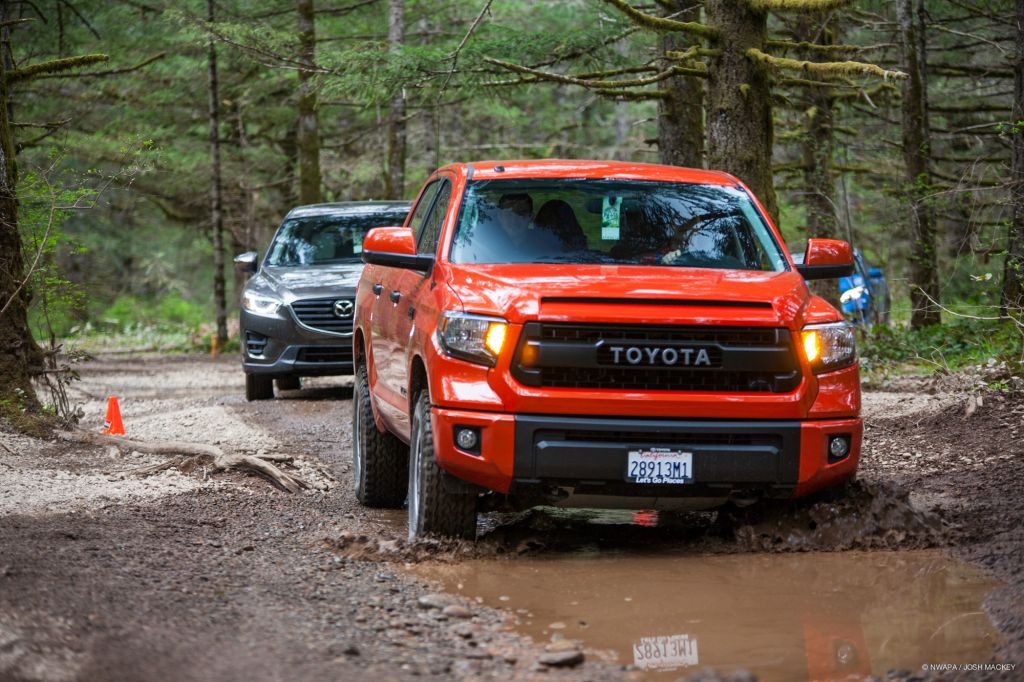 MUDDY Off Road Test Drive: 2015 Toyota Tundra TRD Pro On Everyman Driver