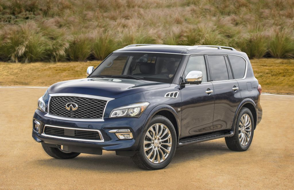 2015 Infiniti QX80 AWD on Everyman Driver