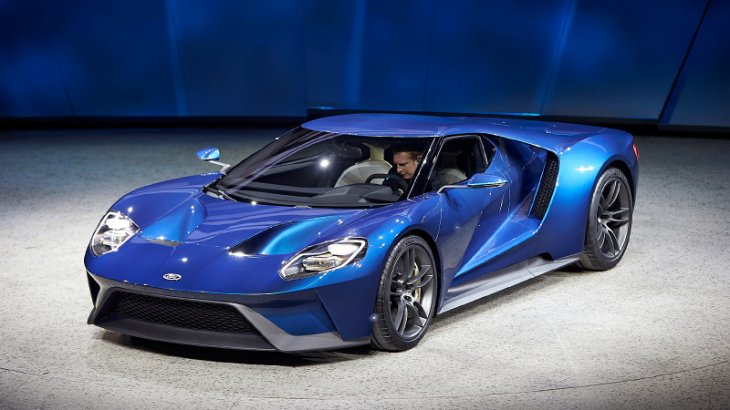 Ford gt supercar as official 2016 ces show vehicle on for Ford motor company news headlines