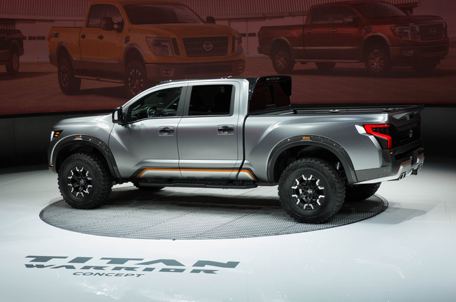 nissan titan warrior concept on everyman driver everyman driver. Black Bedroom Furniture Sets. Home Design Ideas