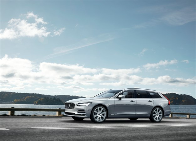 2017 Volvo V90 Swedish Station Wagon on Everyman Driver, Dave Erickson