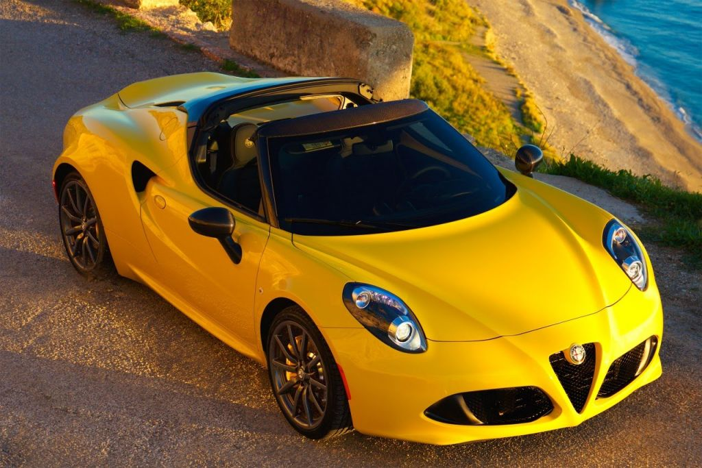 hagerty adds alfa romeo 4c spider to 'hot list' of future