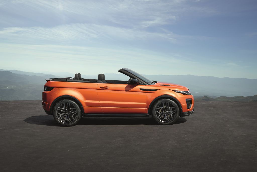 2016 Range Rover Evoque Convertible on Everyman Driver – Everyman Driver