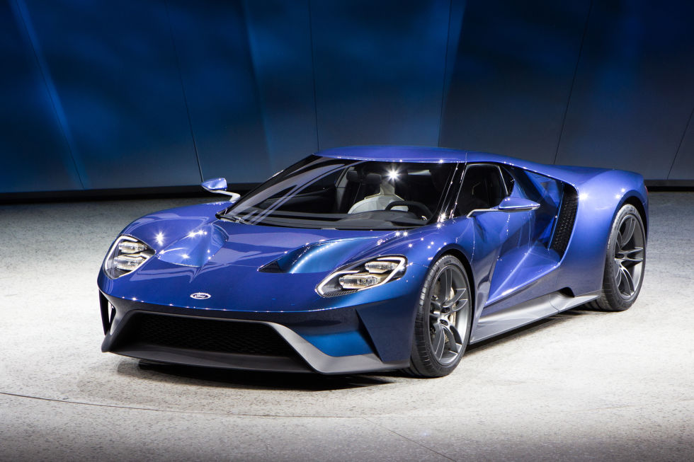 Ford Gt Earns Gene Ritvo Award For Design And Elegance On Everyman Driver