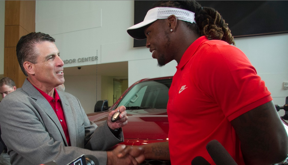 Tennessee Titans RB Derrick Henry on Everyman Driver
