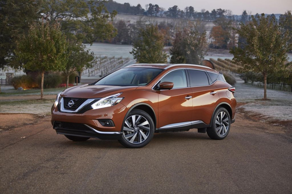 Everyman Driver: Nissan Murano Named Best Midsize SUV of 2016