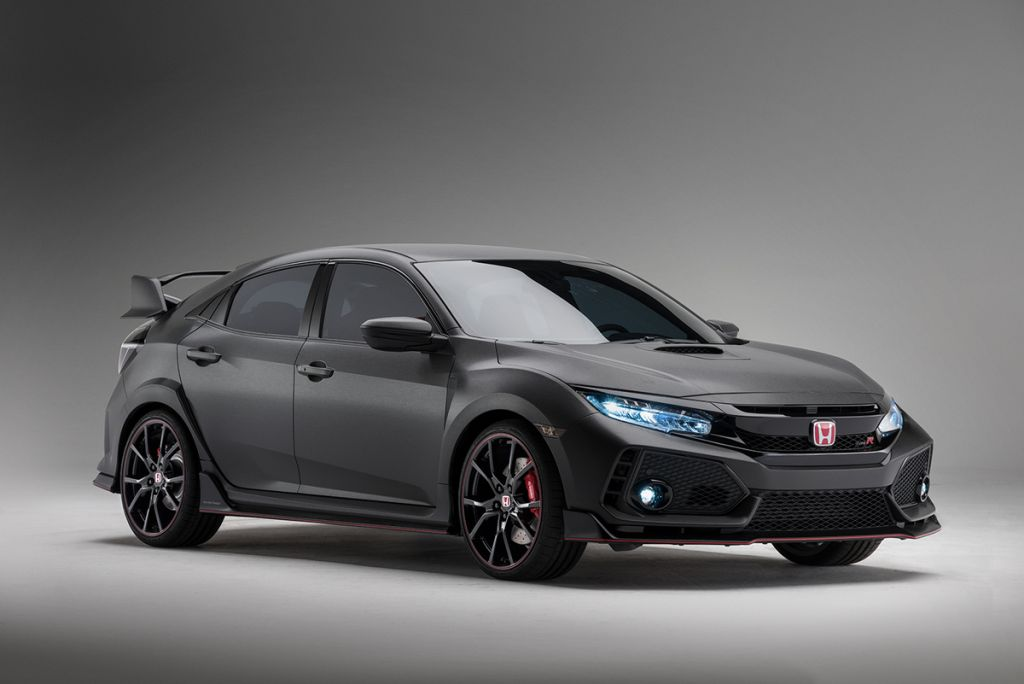 The 2018 Honda Civic Type R Makes Its North American Debut Everyman Driver Dave Erickson