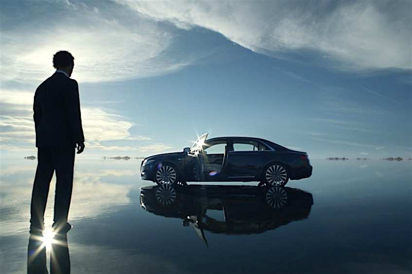 Everyman Driver The Official 2017 Lincoln Continental With Matthew