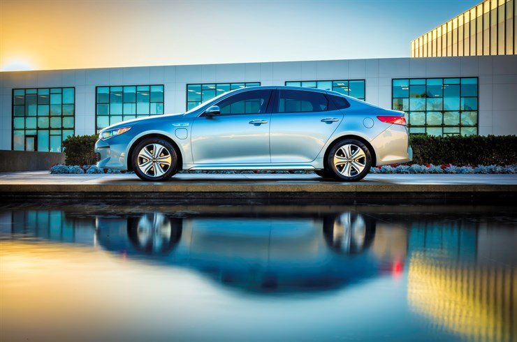 Everyman Driver All New 2017 Kia Optima Plug In Hybrid