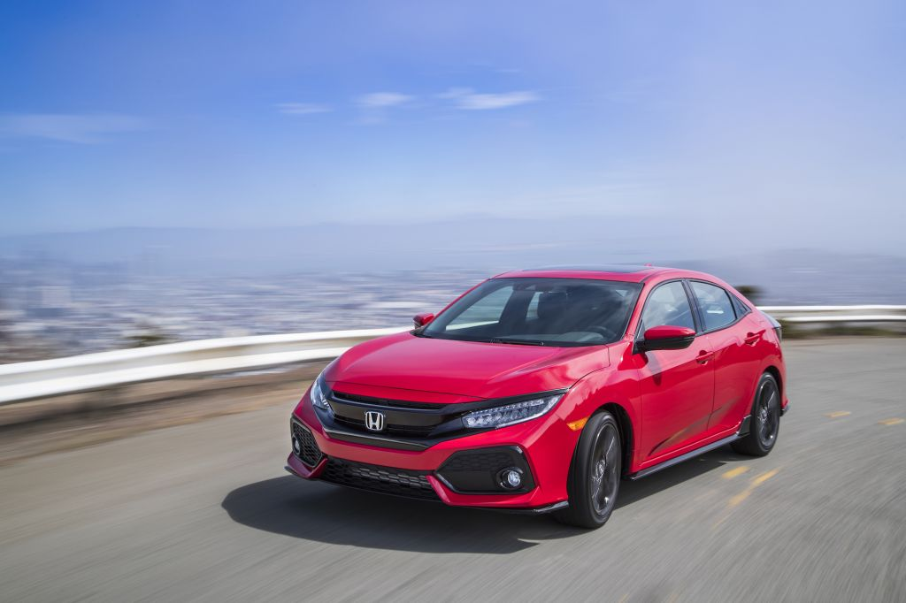 The All New Civic Hatchback Sport Has Been Named A 2017 AUTOMOBILE Star Putting Euro Inspired Versatile Five Door In Company Of Multiple