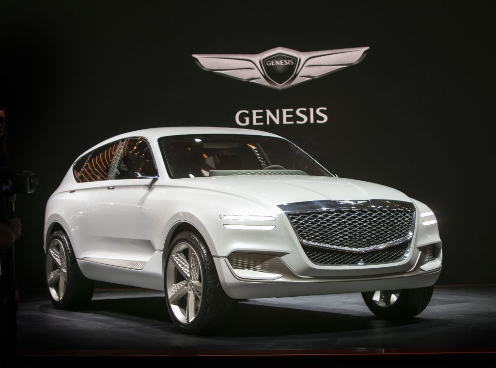 Everyman Driver Genesis Gv80 Crossover Fuel Cell