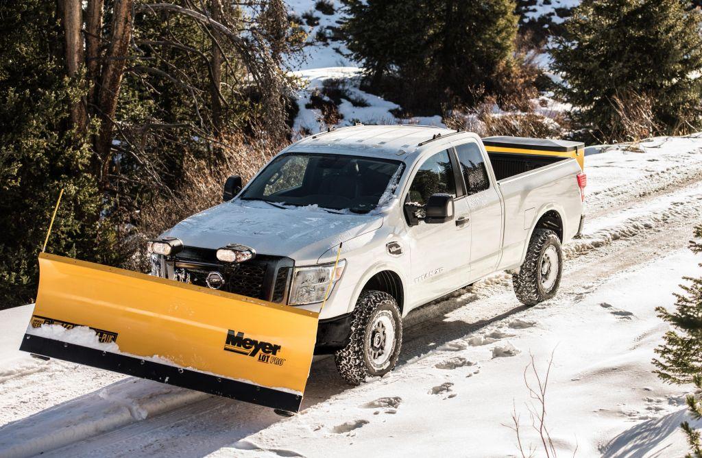 Nissan titan snowplow
