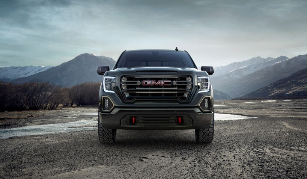 2265c38927e GMC redefines the off-road space by introducing the all-new 2019 Sierra  AT4. For the first time ever