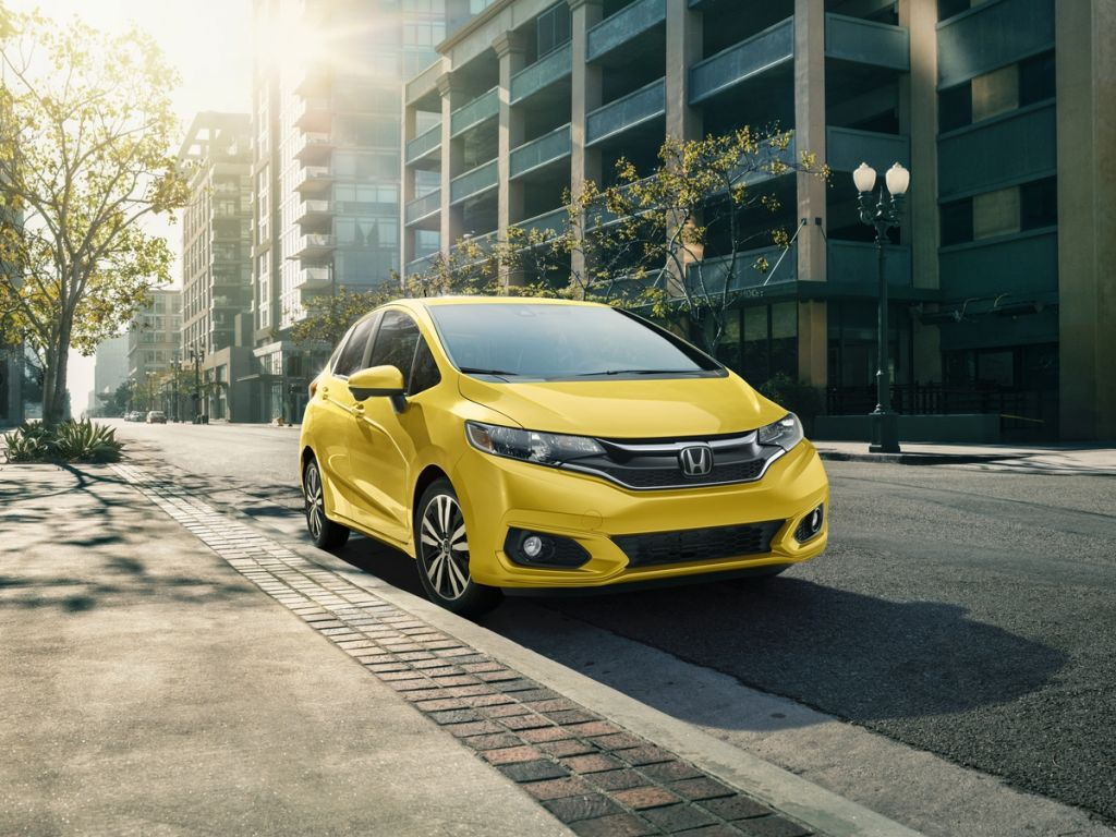 The fun, versatile and stylish 2019 Honda Fit begins arriving at  dealerships nationwide on April 30 with a starting Manufacturer's Suggested  Retail Price ...