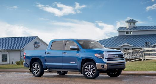 Toyota S Texas Embled Tundra Full Size Pickup Keeps On Truckin For 2018 With A Fresh New Look Up Front And Trd Sport Package