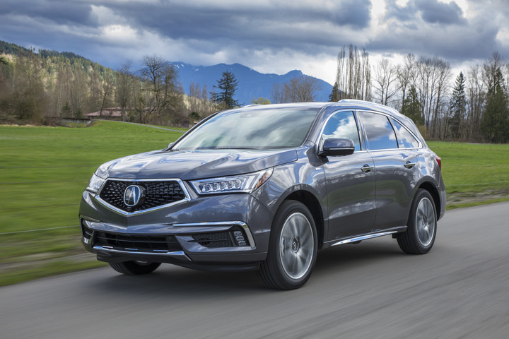The 2019 Acura Mdx Sport Hybrid Begins Arriving At Dealerships Nationwide Tomorrow Featuring Four New Exterior Color Options And Interior Wood